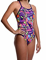cheap -flow funky swimsuits for girls - size 23 to 30 one piece competition swim suit in eight rad swimsuit designs (25 hyperactive)