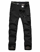 cheap -Hiking Pants Trousers Outdoor Breathable Quick Dry Sweat-wicking Wear Resistance Cargo Pants Bottoms Black khaki Green Camping / Hiking Hunting Fishing 35 36 38 42 30