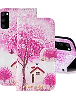 cheap -Case For Samsung Galaxy S20 FE Wallet Card Holder with Stand Full Body Cases Tree PU Leather Galaxy S20 Plus Note 20 Ultra J2 Core A01 A11 A21S A31 A41 A51 A71 A81 A91