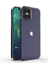 cheap -Case For Apple iPhone 12 / iPhone 12 Mini / iPhone 12 Pro Max Shockproof / Water Resistant / Transparent Back Cover Transparent TPU