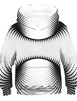 cheap -Kids Boys' Active 3D Long Sleeve Hoodie & Sweatshirt White