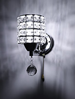 cheap -Wall Lamp Crystal Wall Lamp LED Wall Light Crystal Modern Wall Sconce Bedroom Corridor Living Room Lights For Home