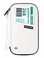 cheap -rfid blocking travel passport wallet holder,family document organizer bag (tyvek-white)
