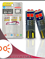 cheap -OTOLAMPARA 2PCS Car CAN-bus LED Bulb T10 Special for Ford Fiesta/ Vauxhall Corsa/ Ford Focus/ Volkswagen Golf/ Nissan Qashqai/ Vauxhall Astra/ Volkswagen Polo Car Side Marker Light W5W Cool Red Color