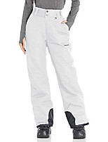cheap -women's insulated snow pants,  white,  large/long