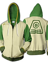 cheap -Inspired by Avatar: The Last Airbender TophBeifong Cosplay Costume Hoodie Terylene 3D Printing Hoodie For Men's / Women's