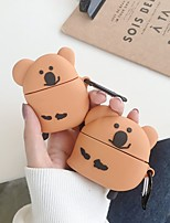 cheap -Case For AirPods / AirPods Pro Cute / Shockproof Headphone Case Soft