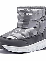 cheap -boys girls winter snow boots waterproof slip resistant warm fur lined cold weather outdoor shoes gray,eu26 toddler 8.5