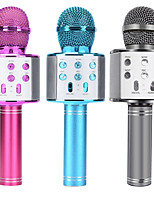 cheap -Integrated Microphone Portable Bluetooth Karaoke Microphone Wireless Professional Speaker Home KTV Handheld Microphone