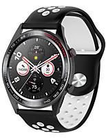 cheap -Watch Band for Huawei Watch GT / huawei honor Magic / Huawei Watch GT2 46mm Huawei Sport Band Silicone Wrist Strap