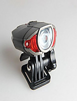 cheap -mountain bike bicycle lamp headlight taillight usb charging bicycle safety warning, dotted red