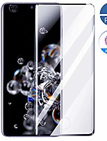 cheap -2 pack galaxy s20 tempered glass screen protector, [case friendly] [support fingerprint unlock] [anti-fingerprint] [no bubble] [full coverage] for (galaxy s20-2pcs hd)