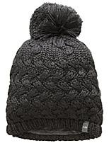 cheap -weft pom beanie, new zealand merino wool, jet hthr, os