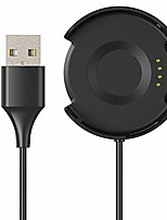 cheap -for huami amazfit verge smart watch charger, 100 cm(39in) usb charger charging cable cord durable charger cradle adapter charger dock station for huami amazfit verge smart watch (black)