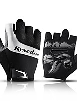 cheap -Bike Gloves / Cycling Gloves Anti-Slip Breathable Durable Fingerless Gloves Sports Gloves Mesh Black Blue for Adults' Outdoor Exercise Cycling / Bike