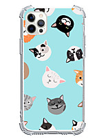 cheap -Lovely Animal Case For Apple iPhone 12 iPhone 12 Mini iPhone 12 Pro Max Unique Design Shockproof Back Cover TPU