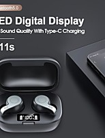 cheap -LITBest LX_S11s TWS Bluetooth Wireless Earphone LED Digital Display Earbuds HD Sounds Fashion Headphones with Charging Bin