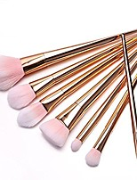 cheap -7 pcs professional powder cosmetic makeup brush brushes set, rose gold