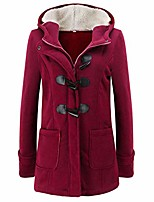cheap -Hiking Jacket Winter Outdoor Thermal Warm Windproof Breathable Camping / Hiking Hunting Fishing Wine Red Light Gray Dark Gray Camel Black