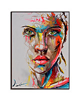 cheap -100% Hand painted Graffiti Women Portrait Oil Painting Home Decor  Canvas Decorative Wall Art Pictures Cuadros For Living Room Bedroom