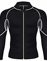 cheap -jackets for men sweat vest sauna suit long sleeve workout (s)