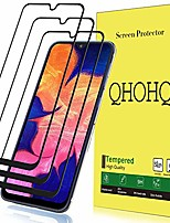 cheap -[3 pack]  screen protector for samsung galaxy a10e / a20e,[full coverage] tempered glass case friendly protection film for samsung galaxy a10e / a20e (black)