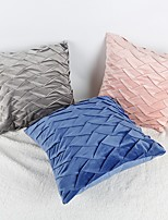 cheap -Woven Double Twist Zipper Pillowcase Retro European Style Wool Knitting, European Retro Plain Color Cushion Pillow