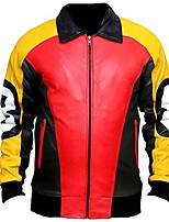 cheap -t d a puddy's patrick 8 ball leather jacket (4xlarge, faux leather)