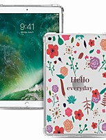 cheap -Case For Apple iPad Pro 11 2020 Shockproof Transparent Pattern Back Cover Word Phrase TPU iPad 10.2 Pro 10.5 2019 Air 9.7 ipad 234 mini 12345 7.9