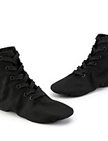 cheap -Women's Dance Shoes Ballet Shoes / Jazz Shoes / Modern Shoes Boots Flat Heel White / Black / Red