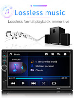cheap -2 Din Car Radio GPS Navigation Camera 7'' Touch Screen Bluetooth Autoradio Multimedia MP5 Player 7018G Audio Stereo 12V