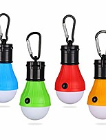 cheap -led tent lamp camping lantern lamp camping tent light emergency light waterproof portable bulb for outdoor hiking, fishing, hunting, mountaineering (4 pack, multicolor)