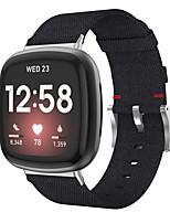 Недорогие -Ремешок для часов для Fitbit Versa 3 / Fitbit Sense Fitbit Спортивный ремешок Нейлон Повязка на запястье