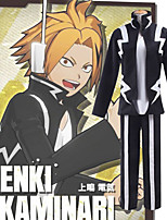 cheap -Inspired by My Hero Academia Boko No Hero Kaminari Denki Anime Cosplay Costumes Japanese Cosplay Suits Top Pants T-shirt For Men's Women's