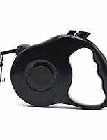 cheap -heavy duty retractable dog leash dog walking leash for small medium dogs tangle free (black)