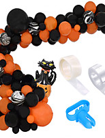 cheap -Party Balloons 78 pcs Halloween Party Supplies Latex Balloons Hanging Swirl Boys and Girls Party Decoration 12 Inch for Party Favors Supplies or Home Decoration