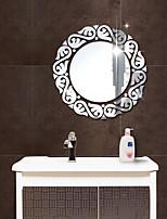 cheap -Circular Pattern Wall Stickers Mirror Wall Stickers Decorative Wall Stickers, Acrylic Home Decoration Wall Decal Wall Decoration 1pc