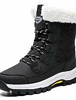 cheap -women's winter snow boots waterproof fur lined ankle booties anti-slip warm shoes black,us7 eu39