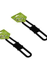 cheap -benran mtb cycling bike bicycle elastic torch silicone band flash light flashlight phone odometer multimeter strap tie ribbon mount holder (pack of 5) (black)