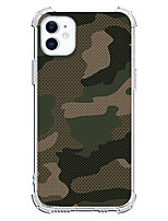 cheap -Camouflage Case For Apple iPhone 12 iPhone 11 iPhone 12 Pro Max Unique Design Protective Case Shockproof Back Cover TPU