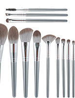 cheap -14 Pcs makeup brushes set green cloud makeup brushes loose powder blush brushes and eye shadows