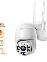 Недорогие -ptz wifi ip-камера 1080p камера безопасности беспроводной onvif аудио открытый водонепроницаемый ИК-цвет ночь