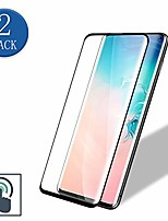 cheap -galaxy s10 tempered glass screen protector,anti-bubble,9h hardness,2-pack 3d full curved protective film for samsung galaxy s10