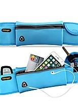 cheap -unisex running belt waist pack running pouch running gear bag (blue)