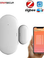 cheap -ZB-DWC-3 Plastics Intelligent Lock Smart Home Security iOS / Android System Anti-prizing function Home / Office / Apartment / Villa Security Door / Wooden Door / Glass Door (Unlocking Mode