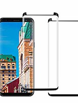 cheap -2 pack galaxy note 9 screen protector hd [anti fingerprint] [bubble-free] 3d curved [case friendly] full coverage [9h hardness] compatible samsung galaxy note 9