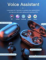 cheap -LITBest C3NT Wireless Earbuds TWS Headphones Bluetooth5.0 Stereo with Microphone HIFI with Charging Box Auto Pairing for Mobile Phone