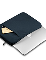 cheap -11.6 Inch Laptop / 13.3 Inch Laptop / 15.6 Inch Laptop Sleeve / Briefcase Handbags Canvas Solid Colored for Men for Women for Business Office Shock Proof
