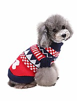 cheap -pet dog sweater - turtleneck winter coat apparel clothes with colorful for cold weather (xxl, blue)
