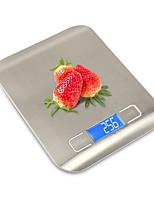 cheap -Household Electronic Kitchen Scale Stainless Steel Baking Scale Gram Scale Ultra-thin Baking Kitchen Electronic Scale